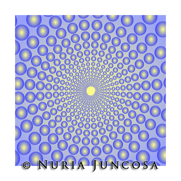BLUE  by Nuria Juncosa